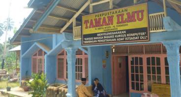Pembangunan Taman Ilmu Paninjauan Solok Sumbar