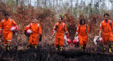 Bantu Nilus dan Tim Cegah Api