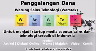 Warung Sains Teknologi - Media Mencerdaskan Bangsa
