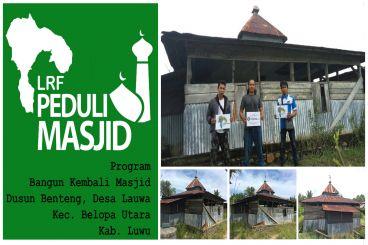 Bantu Bangun kembali Masjid Kami