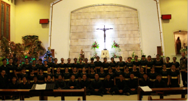 Loyola Voices road to Orientale Concentus by SOTA