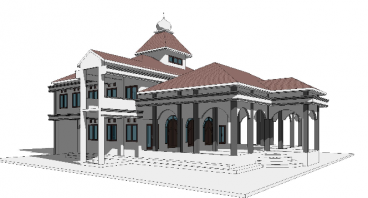 Renovasi Masjid Hasan Munandar Pakis Jambon Ponorg