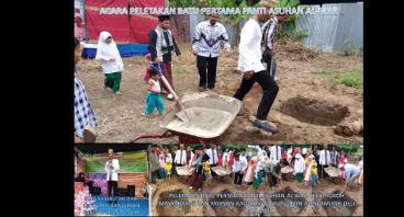 Pembangunan Panti Asuhan AlBirr dan Sekolah gratis