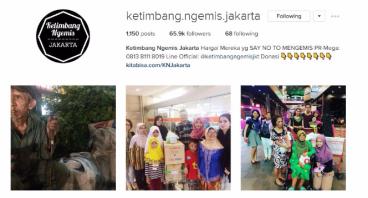 Dompet Donasi Ketimbang Ngemis Jakarta