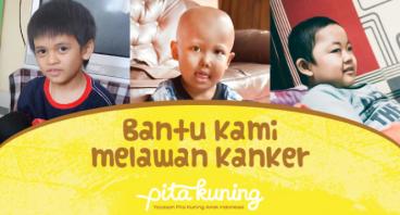 Bantu Alif, Rizal & Arles Melawan Kanker