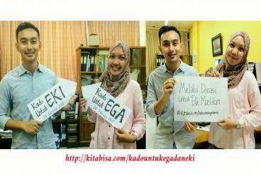 Kado Ega & Eki untuk Pak Maslikan