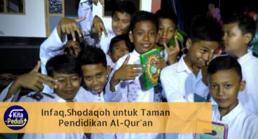 Infaq,Shodaqoh untuk Taman Pendidikan Al-Qur'an
