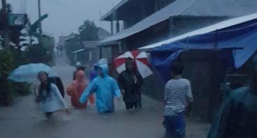 Banjir Candikuning, Warga Patungan Buat Drainase