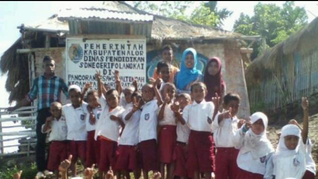 Beasiswa Untuk Guru SD Negeri Folangkai, Alor