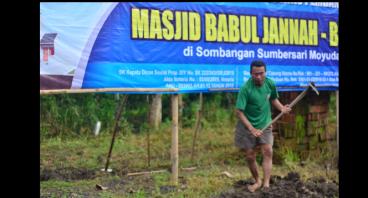 Pembangunan Masjid Panti Asuhan Bina Insani Putra