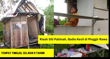 Beasiswa untuk Fatimah,Gadis Kecil di Pinggir Rawa