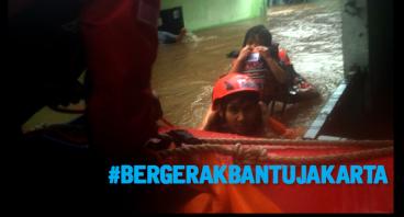 Bergerak Bantu Banjir Jakarta