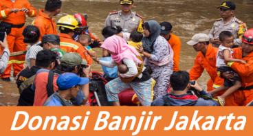 Banjir Jakarta Butuh Bantuan Umat Islam
