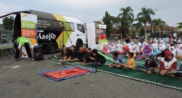 Infaq untuk Operasional 1 tahun Mobile Masjid