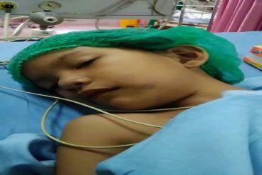 Aura butuh biaya operasi jantung ke luar negeri