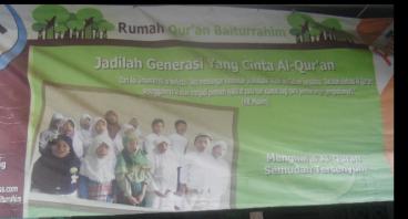 Ayo bantu Renovasi Rumah Qur'an Baiturrahim