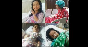 Yuk bantu Catheleen dari penyakit Anemia Aplastik