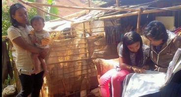 Bantu keluarga Aep punya rumah dan bekerja