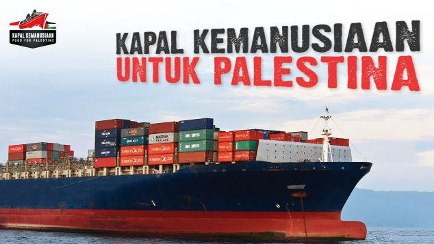 Bantu Layarkan Kapal Kemanusiaan untuk Palestina