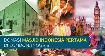Bangun Masjid Indonesia Pertama di London-UK