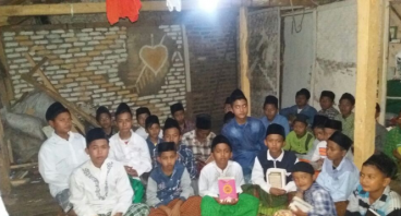 Madrasah Miftahul Jannah yang mau Roboh dan Bocor