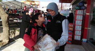 Roti Untuk Pengungsi Suriah