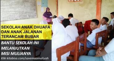 Selamatkan Sekolah Anak Dhuafa yang Terancam Bubar