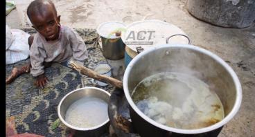 Bantu Somalia yang Lapar