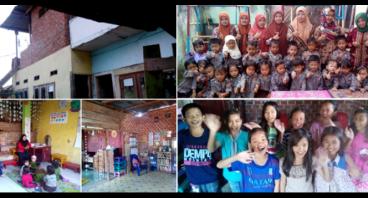 Pendidikan gratis untuk anak-anak Karya Bakti