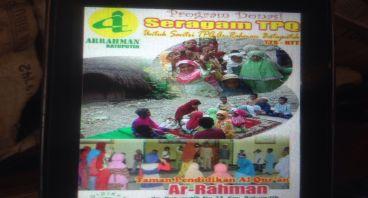 Donasi Seragam TPQ Muslim Pedalaman Timor