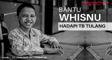 Bantu Whisnu dan Ratusan Anak Disabilitas Lainnya