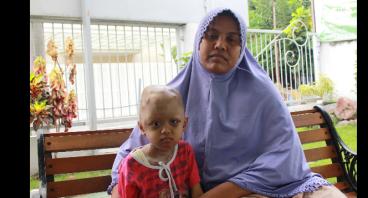 Aziatun Bocah Penderita Neuroblastoma