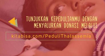 Donasi Untuk Penderita Thalassemia