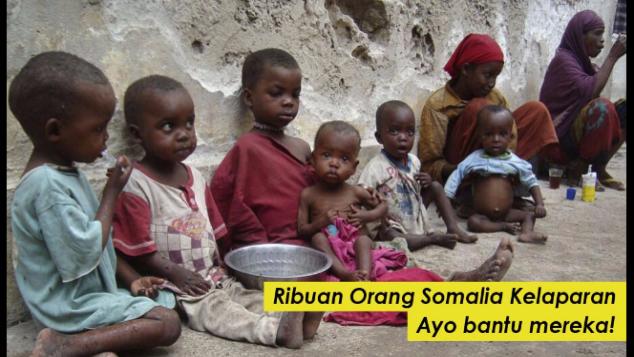 Dalam 48 Jam 110 Orang Somalia Tewas Karena Lapar!