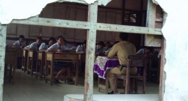 Renovasi Sekolah di Perbatasan