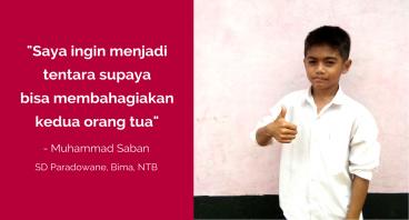 Rinjani untuk Pendidikan Saban