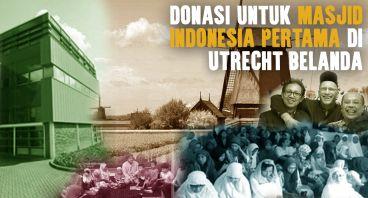 Masjid&Pusat Budaya Indonesia di Utrecht Belanda