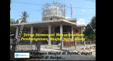Bantu Masjid ini agar Ramadhan Bisa  Digunakan....