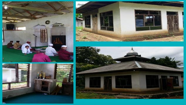 Renovasi Masjid Al Ikhlas Tada Flores NTT