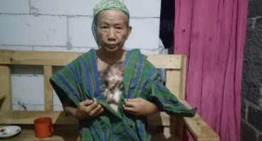 Nenek Solimah, Dhuafa Penderita Kanker Payudara