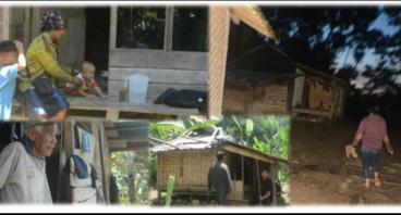 Bantu Penerangan Warga Desa Buana Jaya