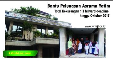 Bantu Pelunasan Asrama Yatim Di Jakarta Timur