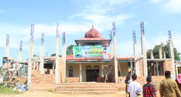 Renovasi Mesjid Hidayatullah
