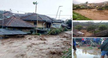 Peduli korban banjir Ciwidey Kab.Bandung