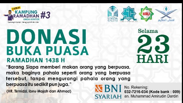 Kitabisa Donasi Buka Puasa Ramadhan