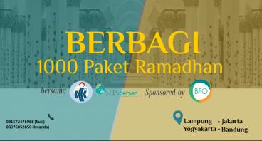 Kita Berbagi 1000 Paket Ramadhan