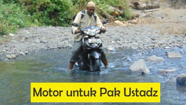 Motor untuk Pak Ustadz
