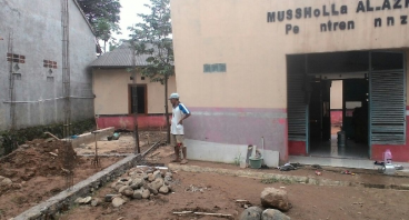 Pembangunan Pondok Pesantren An-Nizom untuk PUTRA