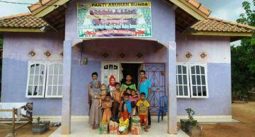 Sembako untuk anak yatim dan keluarga miskin