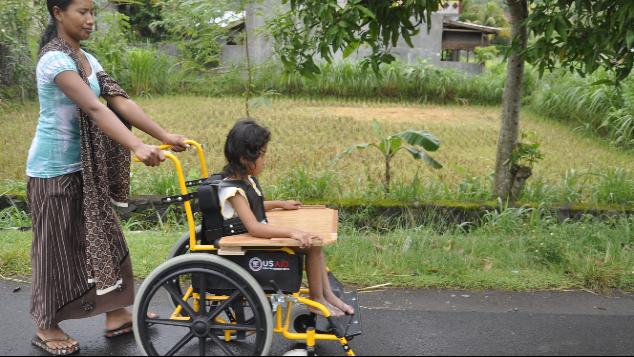 Rehabilitasi & Edukasi untuk Anak Difabel Miskin